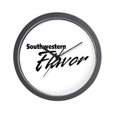 Southern Flavor Wall Clock