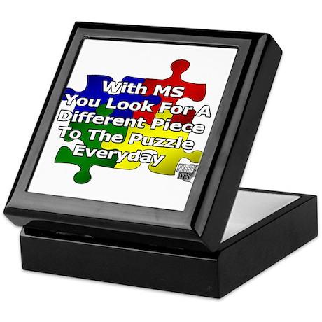 MS IT'S A PUZZLE Keepsake Box