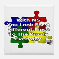 IT'S A PUZZLE   MULTIPLE SCLEROSIS COASTER