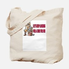 KEEP LOOKING FOR A CURE  MULTIPLE SCLEROSIS TOTE