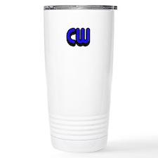 CW (Morse Code) Travel Coffee Mug