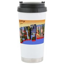 New York Greetings Travel Mug