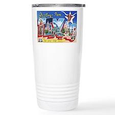 Texas Greetings Travel Mug