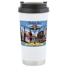 Texas Greetings Travel Mug