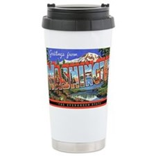 Washington State Greetings Travel Mug