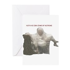 "king lear ""nothing..."" Greeting Cards (Pk of 10)"