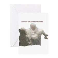 "king lear ""nothing..."" Greeting Card"