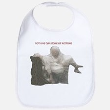 "king lear ""nothing..."" Bib"