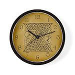 Celtic Letter Z Wall Clock