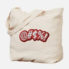 Profanitype Tote Bag