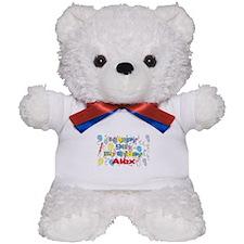 Alex's 9th Birthday Teddy Bear