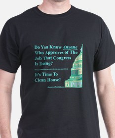 """Time To Clean House"" T-Shirt"