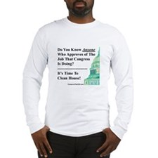 """""""Time To Clean House"""" Long Sleeve T-Shirt"""