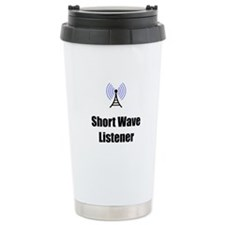 Short Wave Listener Travel Mug
