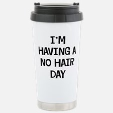 I'm No Hair Travel Mug