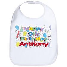 Anthony's 9th Birthday Bib