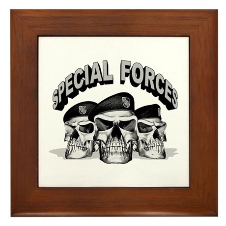 Special Forces Framed Tile