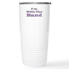 I'm with the Band - Purple Fo Travel Mug