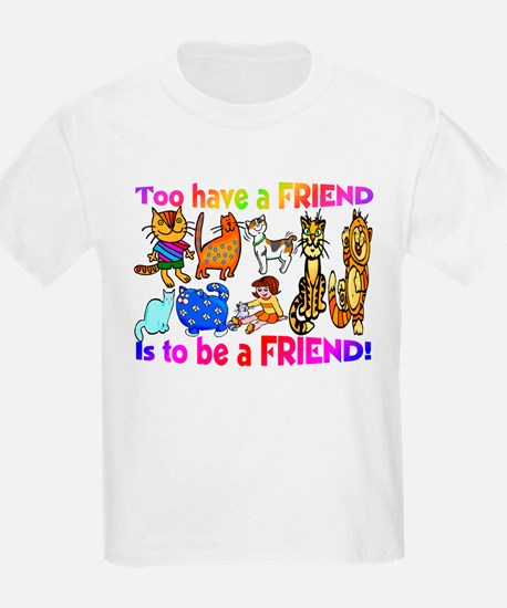 Teen Scene T-Shirt Be a friend
