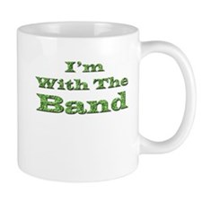 I'm with the Band - Green Foi Mug