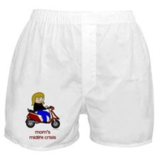 Mom's New Scooter Boxer Shorts