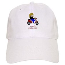 Mom's New Scooter Baseball Cap