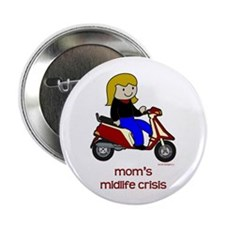 "Mom's New Scooter 2.25"" Button (100 pack)"