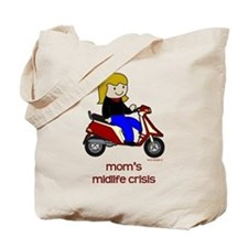 Mom's New Scooter Tote Bag