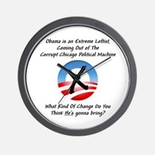 """Corrupt Change"" Wall Clock"