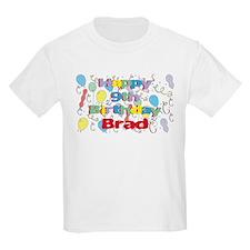 Brad's 9th Birthday T-Shirt