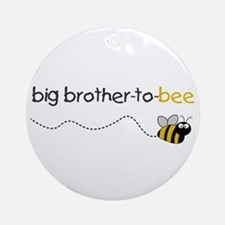 brother to bee shirt Ornament (Round)
