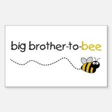 brother to bee shirt Rectangle Decal