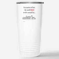 Manchester World Stainless Steel Travel Mug