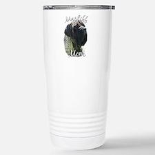 Mastiff(brindle)Mom2 Stainless Steel Travel Mug