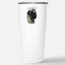 Mastiff(brindle)Dad2 Stainless Steel Travel Mug