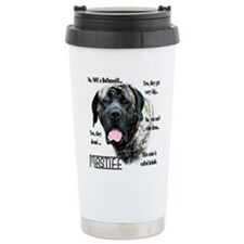 Mastiff(brindle)FAQ Travel Mug