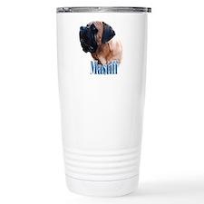 Mastiff(apricot)Name Travel Mug