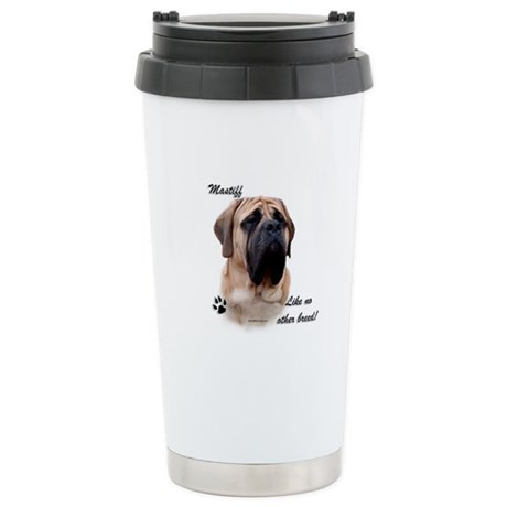 Mastiff Breed Stainless Steel Travel Mug