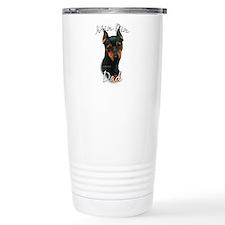 Min Pin Dad2 Travel Mug
