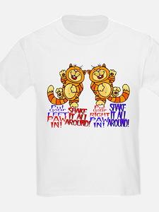 smiley cat T-Shirt shake it!