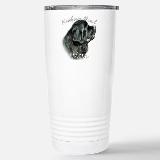 Newfie Mom2 Stainless Steel Travel Mug