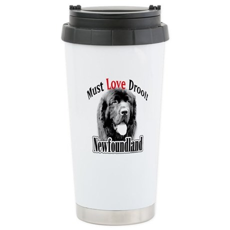 Newfoundland Must Love Stainless Steel Travel Mug