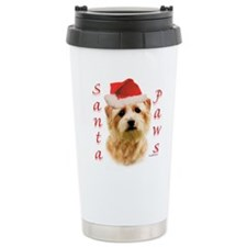 Santa Paws Norfolk Terrier Travel Mug