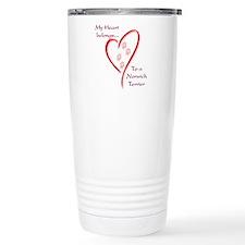 Norwich Heart Belongs Travel Mug