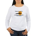 Flying used to be fun Women's Long Sleeve T-Shirt