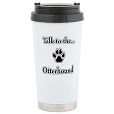 Otterhound Talk Travel Mug
