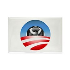 """Typical Obama Supporter"" Rectangle Magnet"