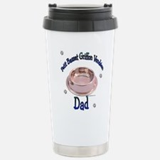 PBGV Dad Stainless Steel Travel Mug