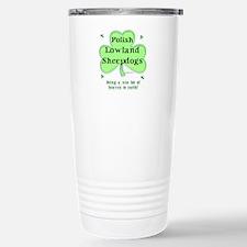 Polish Sheep Heaven Stainless Steel Travel Mug