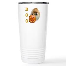 Pomeranian Boo Travel Mug